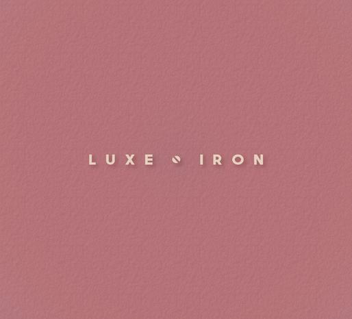LUXE IRON Logo