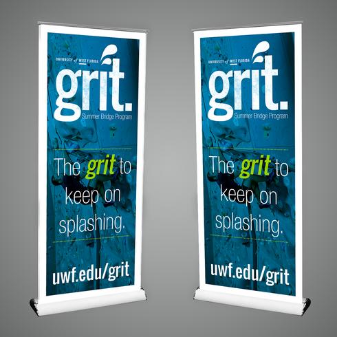 GRIT Retractable Banner