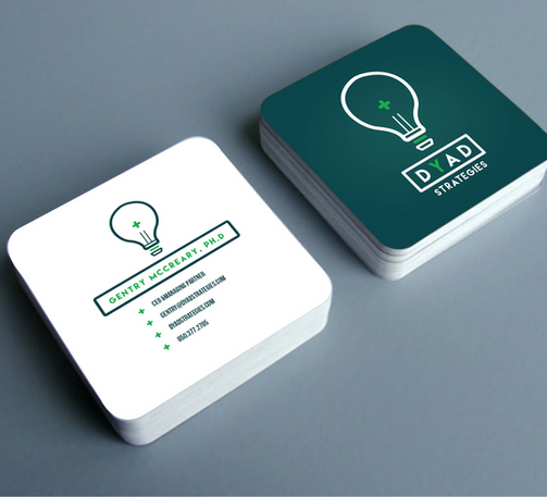 Dyad Strategies Business Cards