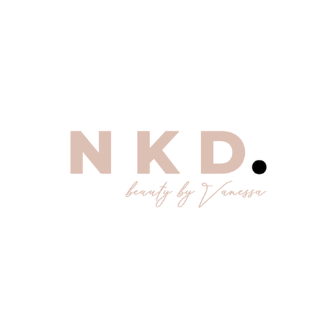 NKD. Beauty by Vanessa Logo Design
