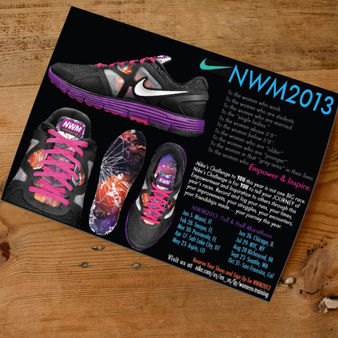 Nike Postcard