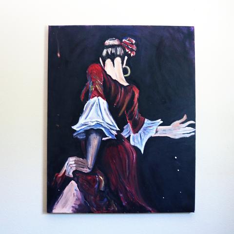 Flamenco Dancer Study