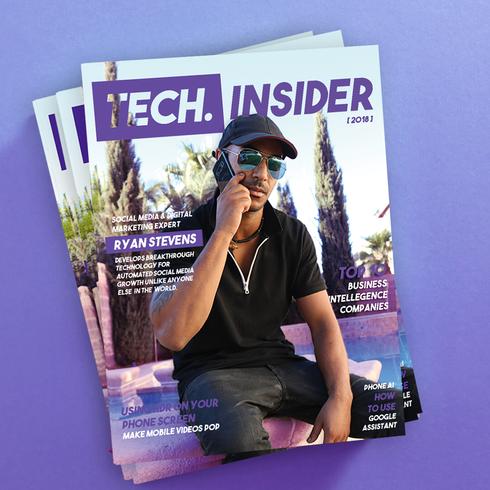 Tech Insider Magazine Cover