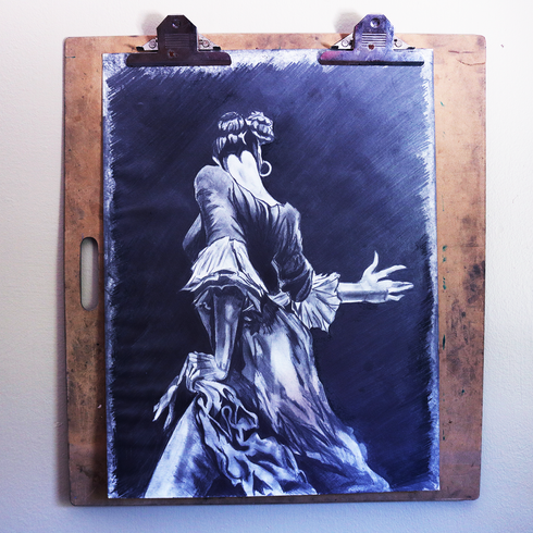 Flamenco Dancer Study