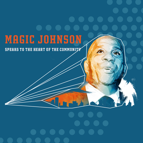 Pensacola News Journal Article on Magic Johnson
