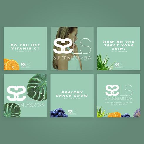 Silk Skin Laser Spa Social Media