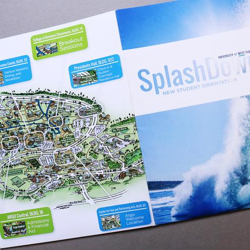Splash Down Orientation Folder