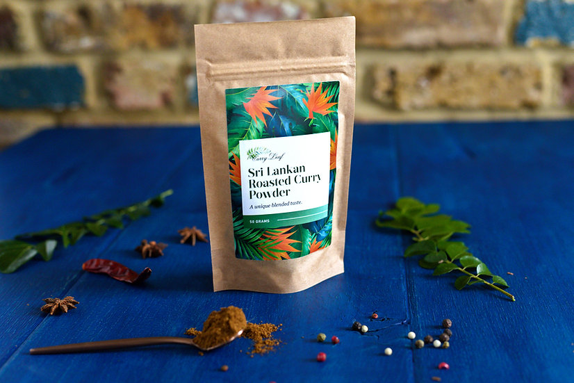 Sri Lankan Roasted Curry Powder Refill Pouch