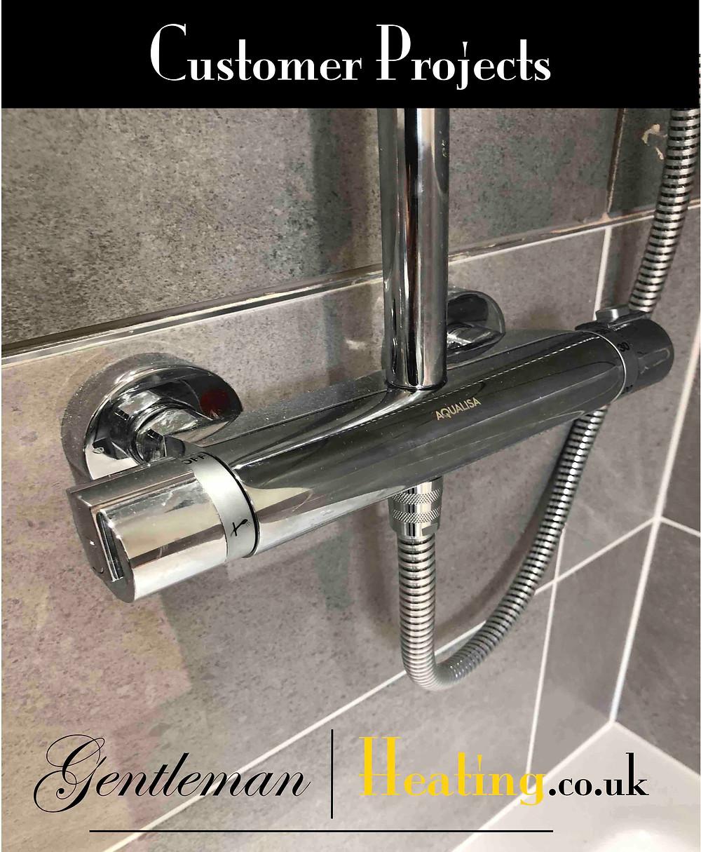 Thermostatic Shower Bar Valve Installation