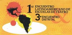 3er Encuentro distrital escuelas teatro.