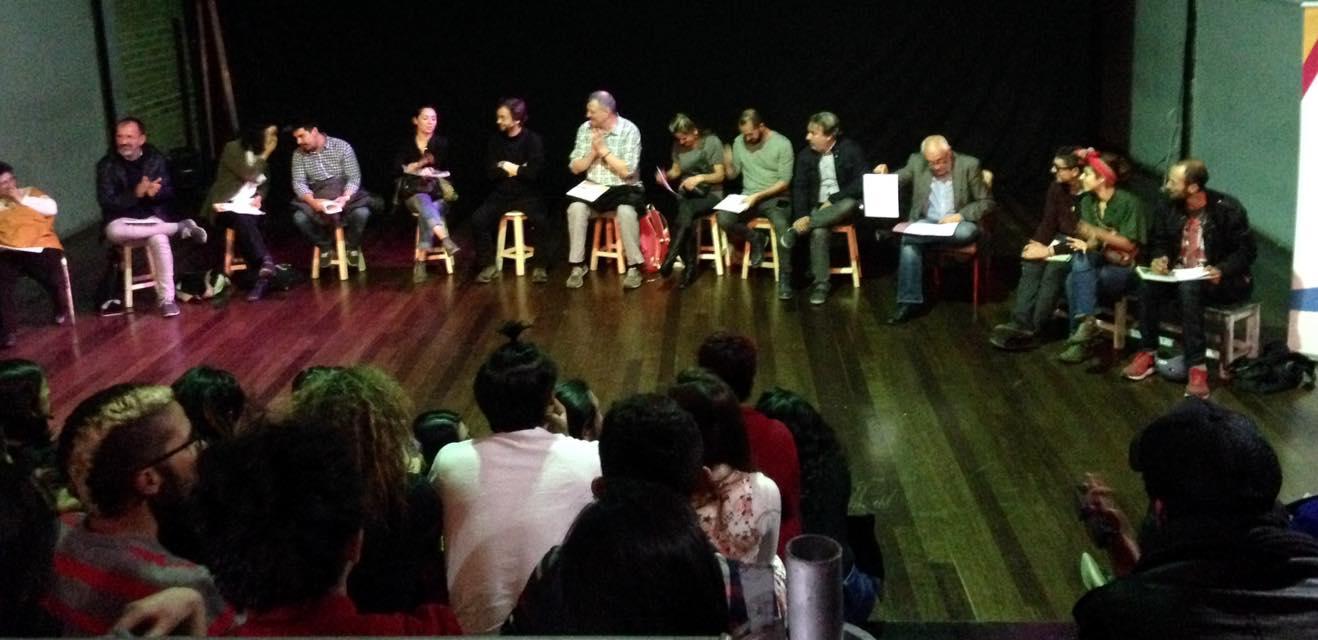 2017- De la dramaturgia a la escena