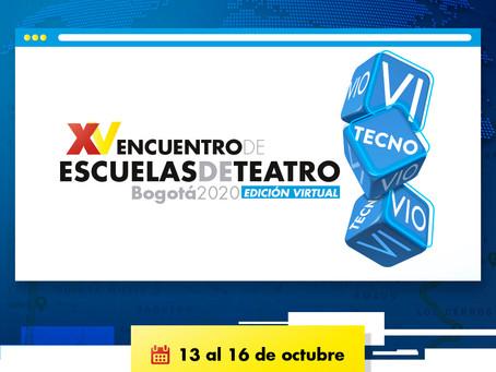 XV Encuentro de escuelas de teatro 2020  - Edición virtual