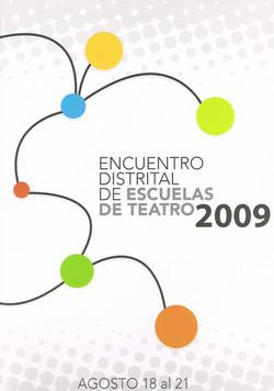 2009 Afiche encuentro training