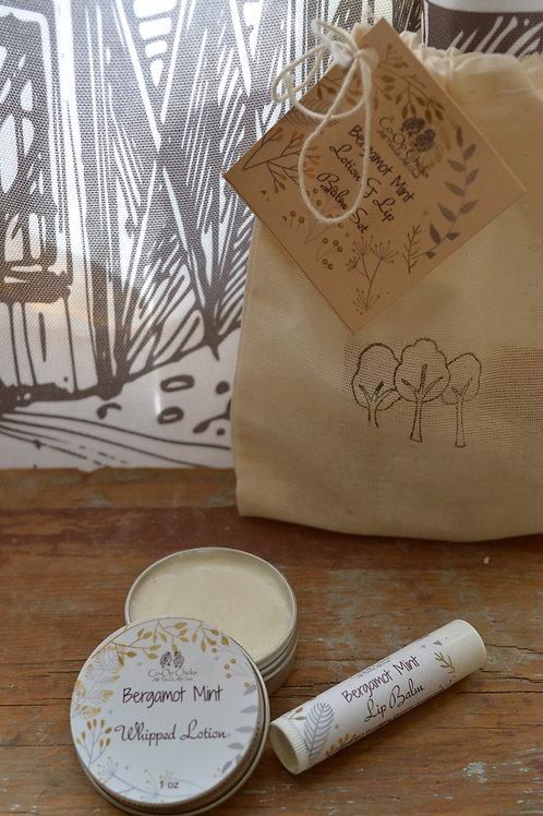 Bergamot Mint Gift Set