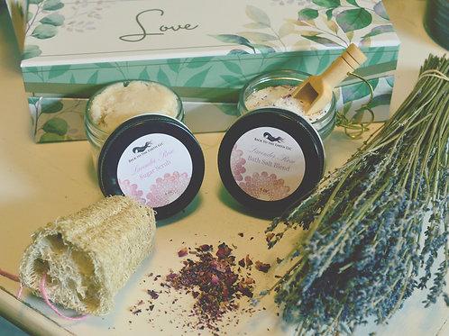 Lavender Rose Love Box