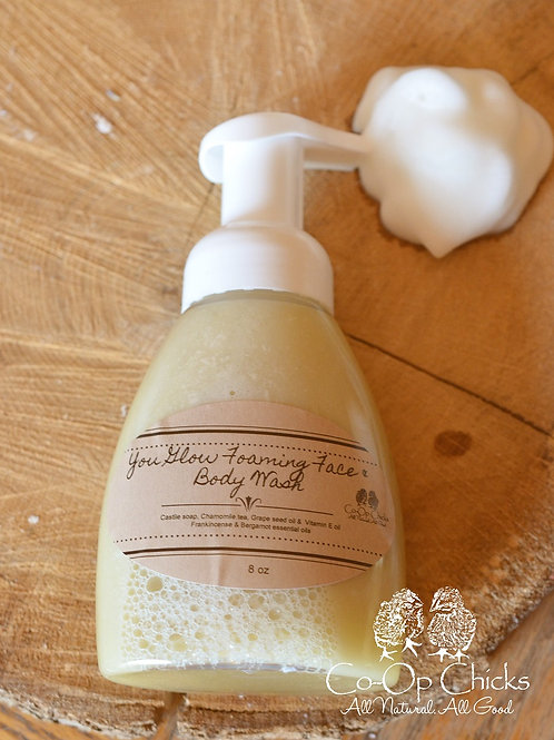 You Glow Foaming Face & Body Wash