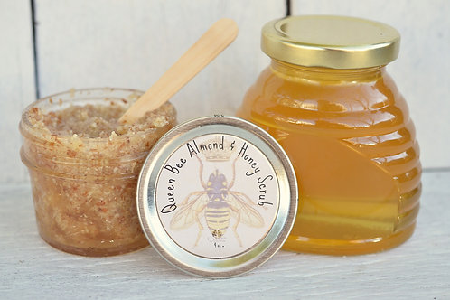 Queen Bee Almond & Honey Scrub