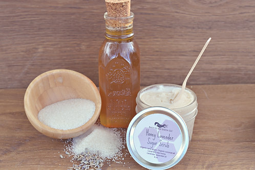 Honey Lavender Sugar Scrub