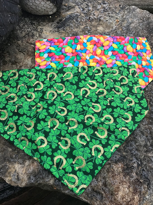 Slide on Dog Bandanas made by Crafted4You Large