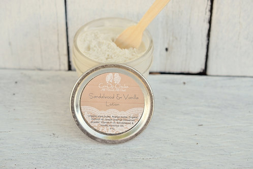 Sandalwood & Vanilla Lotion