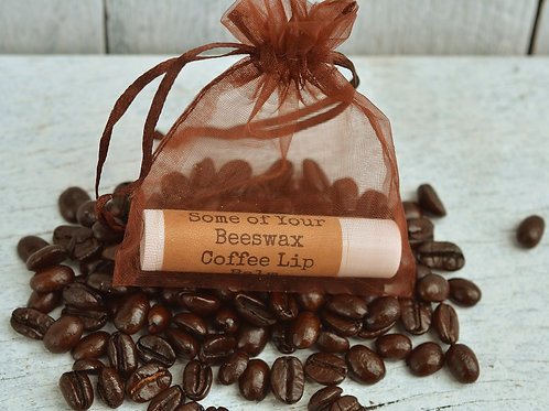 Some of Your Beeswax Coffee Lip Balm
