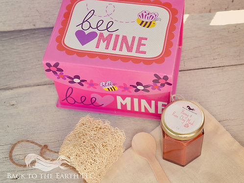 Honey and Rose Clay Mask
