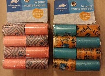 Animal Planet Pets - Waste bag set, 16-pack