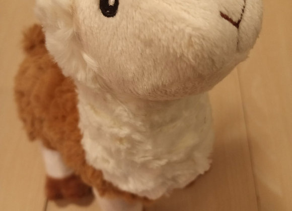 Metropawlin Pet - Llama, stuffed squeak toy