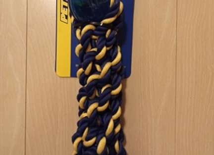 Petsport Twisted Chews - Rope & Ball Toy