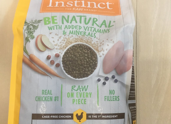 Instinct - chicken & rice, 4.5lbs