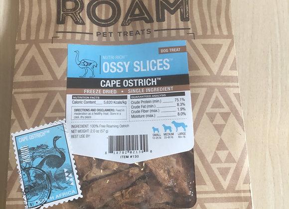Roam Ossy Slices - Cape Ostrich, 2.0oz