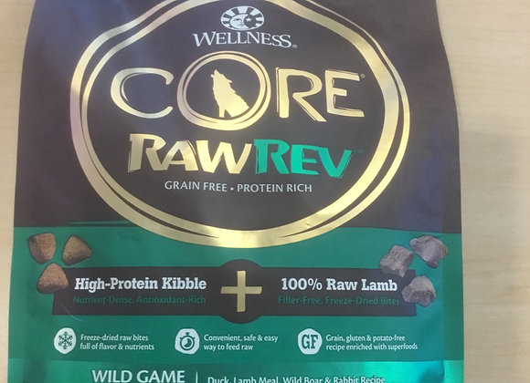 Wellness Core RawRev - wild game, 4lbs