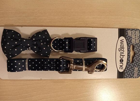 Wag & Bone collar and leash set