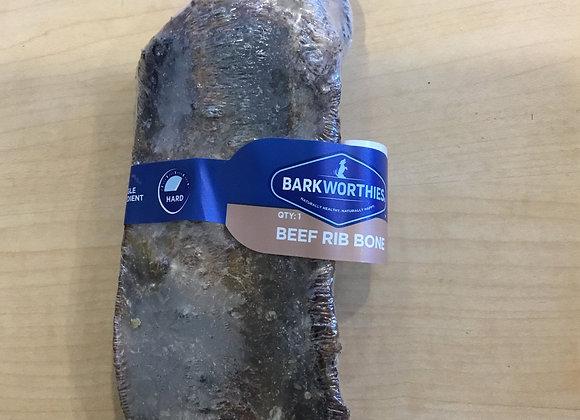 Barkworthies beef rib bone