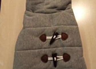 Jacket - gray hoodie, extra small/small
