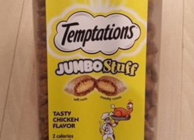 Temptations - cat treat, jumbo stuff, chicken, 14oz