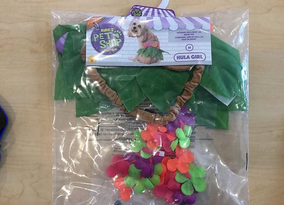 Halloween - Hula costume, med/large