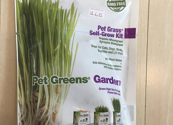 Pet Greens Garden - Self-Grow Kit, GMO free