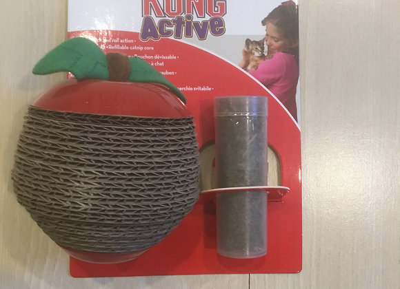 Kong Active - scratch apple with catnip