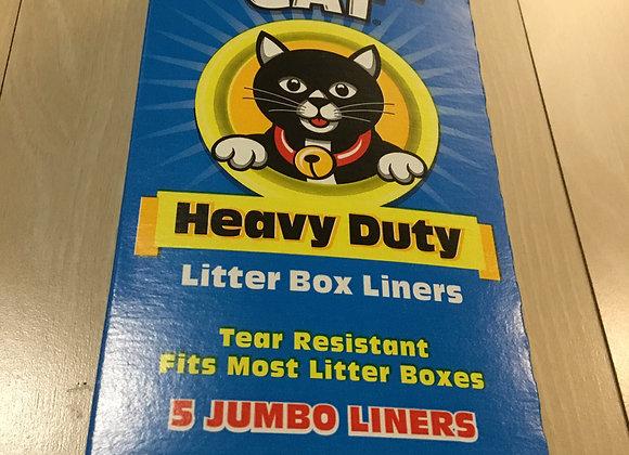 Litter Box Liners - Jonny Cat (5 Jumbo Liners)
