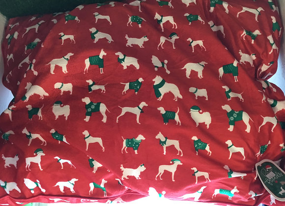 Holiday Dog Bed - large