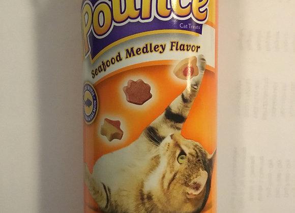 Pounce moist treats - seafood medley