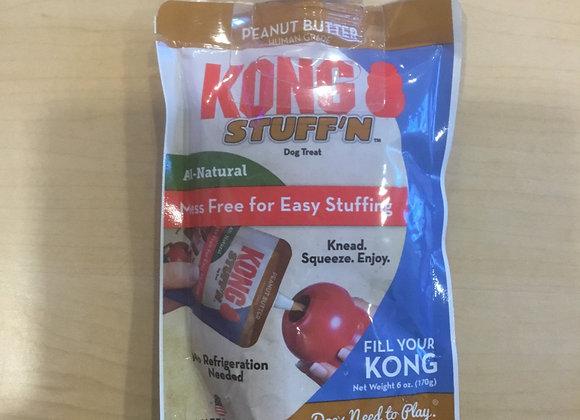 Kong Stuff'n Dog Treat - Peanut butter, 6oz