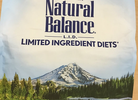 Natural Balance - sweet potato & fish
