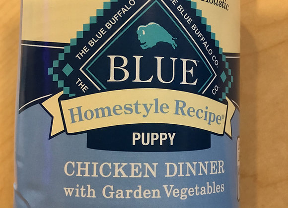 Blue Buffalo - puppy, chicken, can