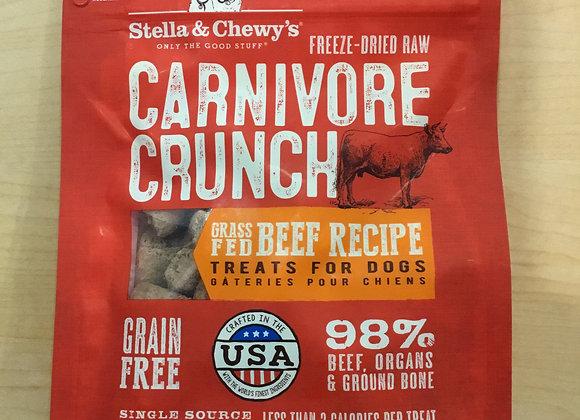 Stella & Chewys - crunch beef dog treat