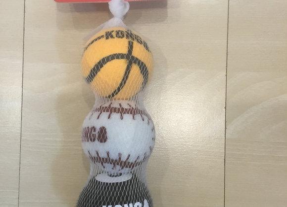 Kong Sport balls, 3-pack