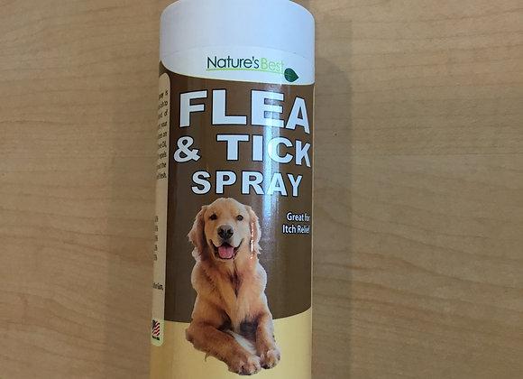 Nature's Best - flea & tick spray 8oz