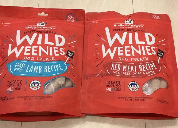 Stella & Chewys - wild weenies treats