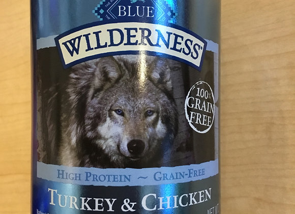 Blue Buffalo Wilderness - turkey & chicken grill, 12.5oz can
